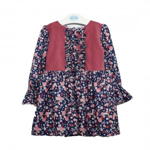Vestido Florido Menina - 85-287