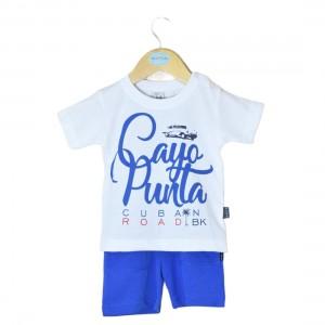 Conjunto Calção Bebé Menino - 72-810