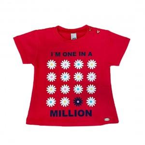 T-shirt Bebé Menina - 03-2810