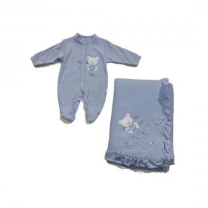 Babygrow Inteiro + Manta - 38-504C