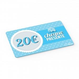 Cheque Presente 20€