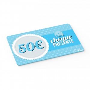 Cheque Presente 50€