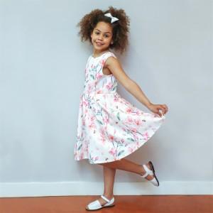 Vestido Florido Menina - 85-379