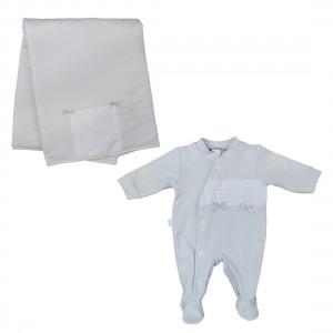 Babygrow + Manta Algodão - 15-130