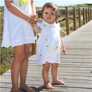 Vestido Bebé Menina - 79-613