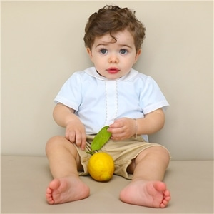 Camisa Bebé Menino - 54-2806