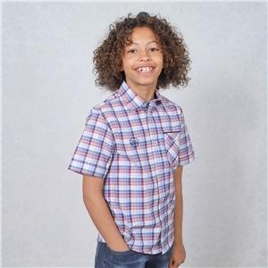 Camisa Menino Manga Curta - 93-407