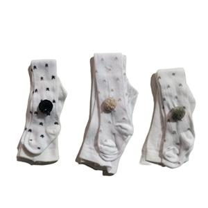 Meia Calça com Pompom - 24-GH831