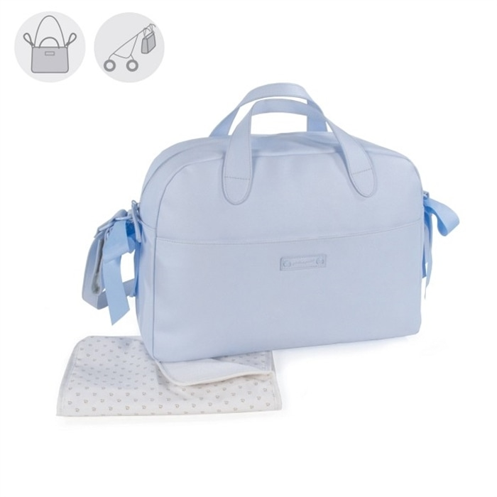 Saco Muda Fraldas Essentials Azul - 74886